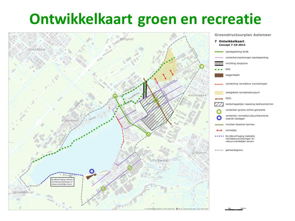 Ontwikkelkaart groen en recreatie