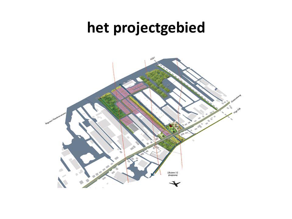 het projectgebied