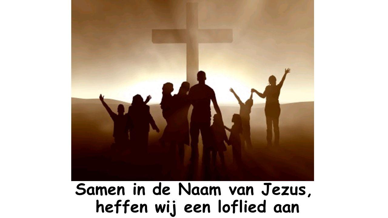 We horen bij elkaar als we samen zijn in de Naam van Jezus