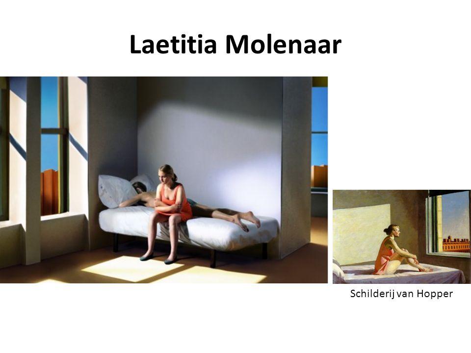 Laetitia Molenaar Schilderij van Hopper