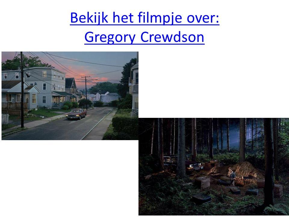 Bekijk het filmpje over: Gregory Crewdson