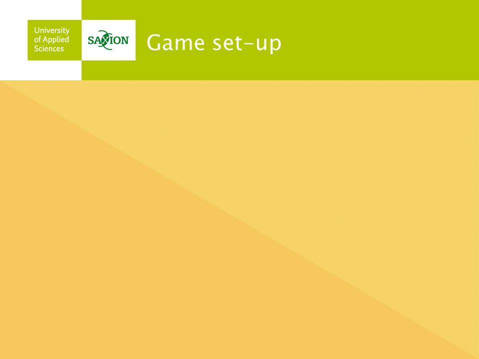 Game set-up