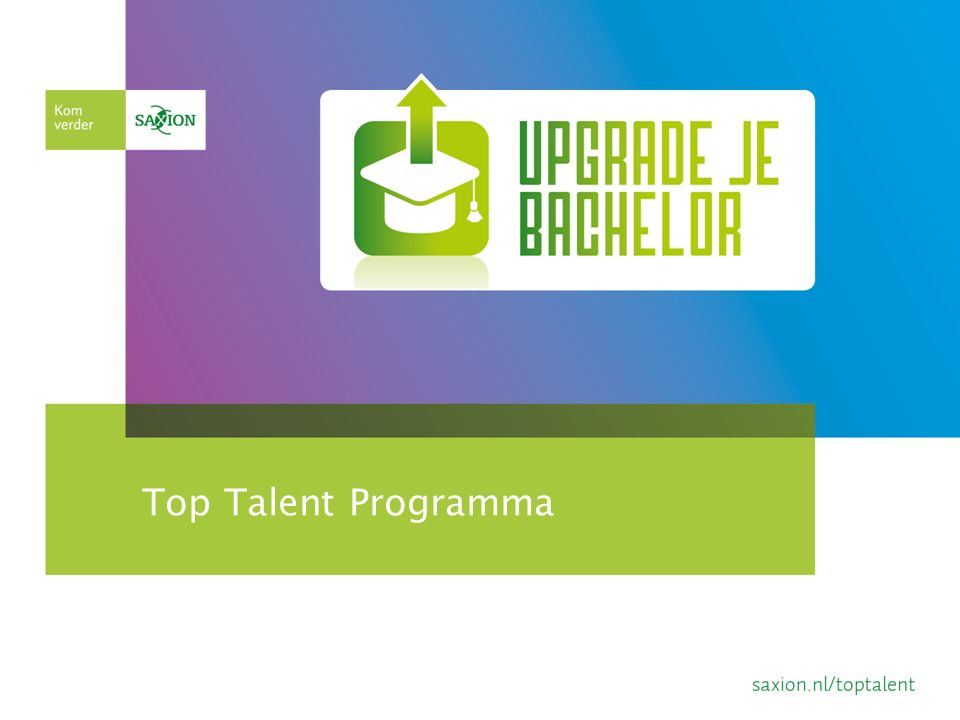 Top Talent Programma