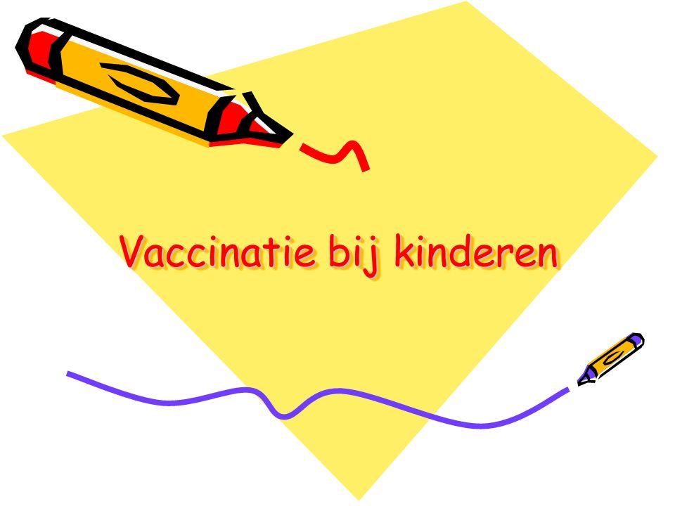 Vaccinatie bij kinderen