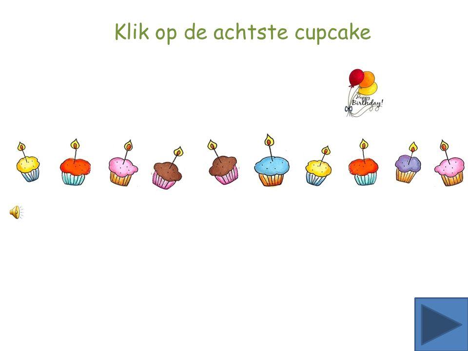 Klik op de zesde ster Klik op de zesde cupcake