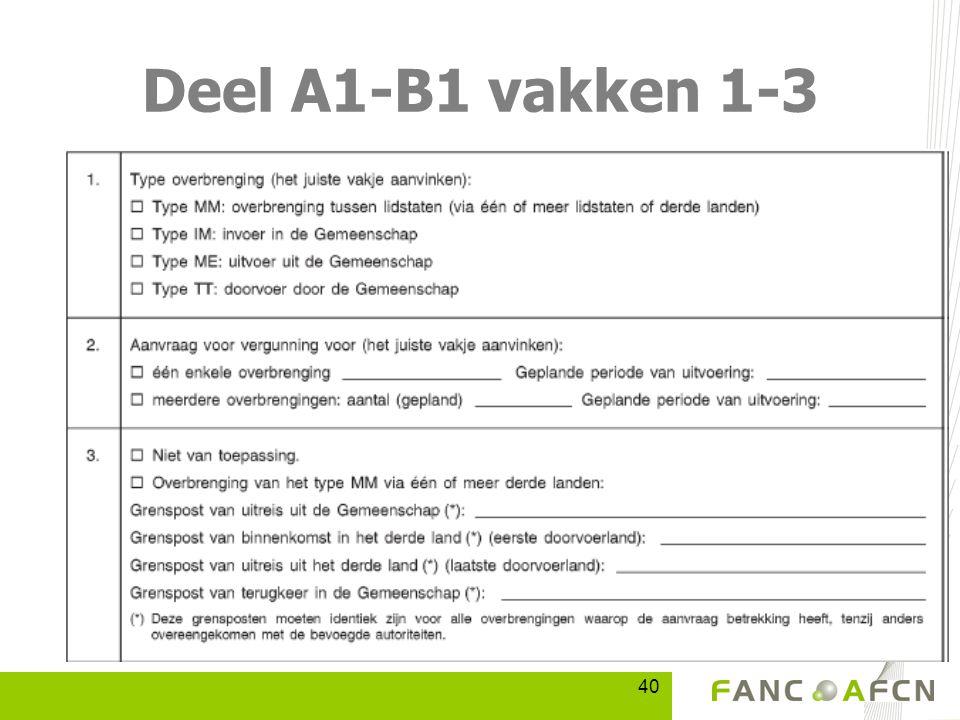 40 Deel A1-B1 vakken 1-3