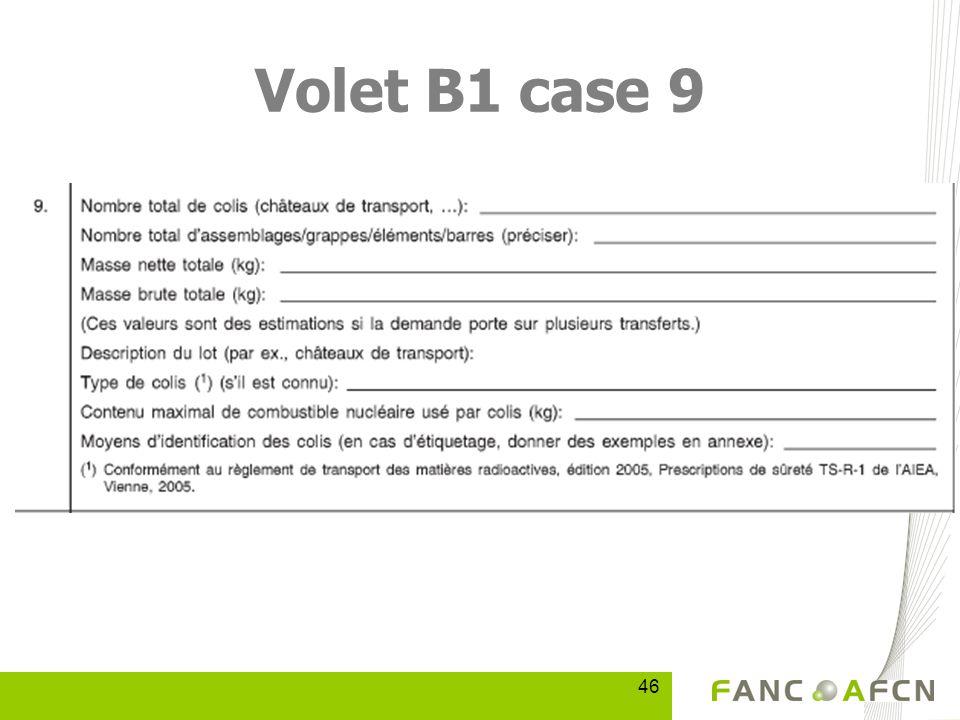 46 Volet B1 case 9