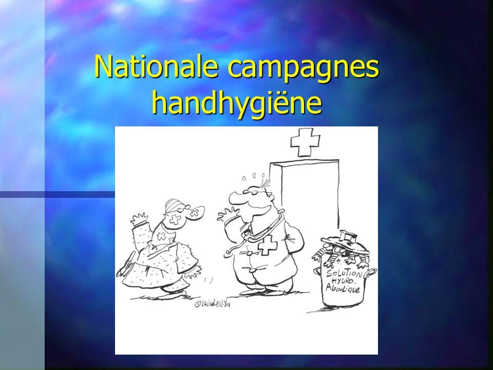 Nationale campagnes handhygiëne