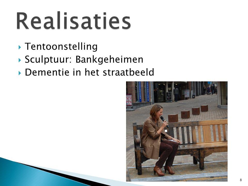  Tentoonstelling  Sculptuur: Bankgeheimen  Dementie in het straatbeeld 8