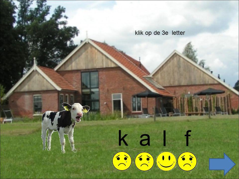 ka fl klik op de 3e letter