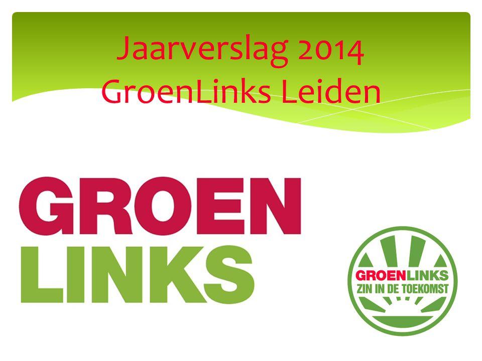 Jaarverslag 2014 GroenLinks Leiden