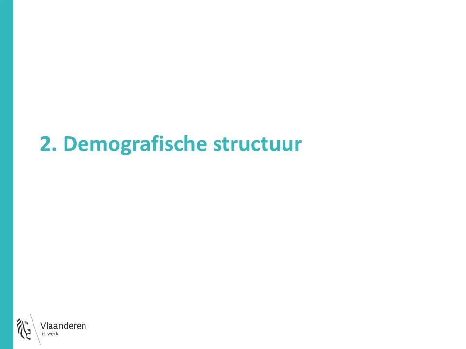 2. Demografische structuur