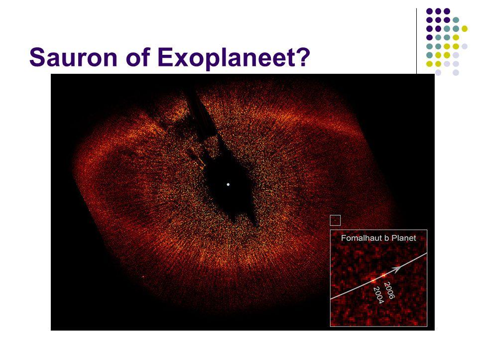 Sauron of Exoplaneet