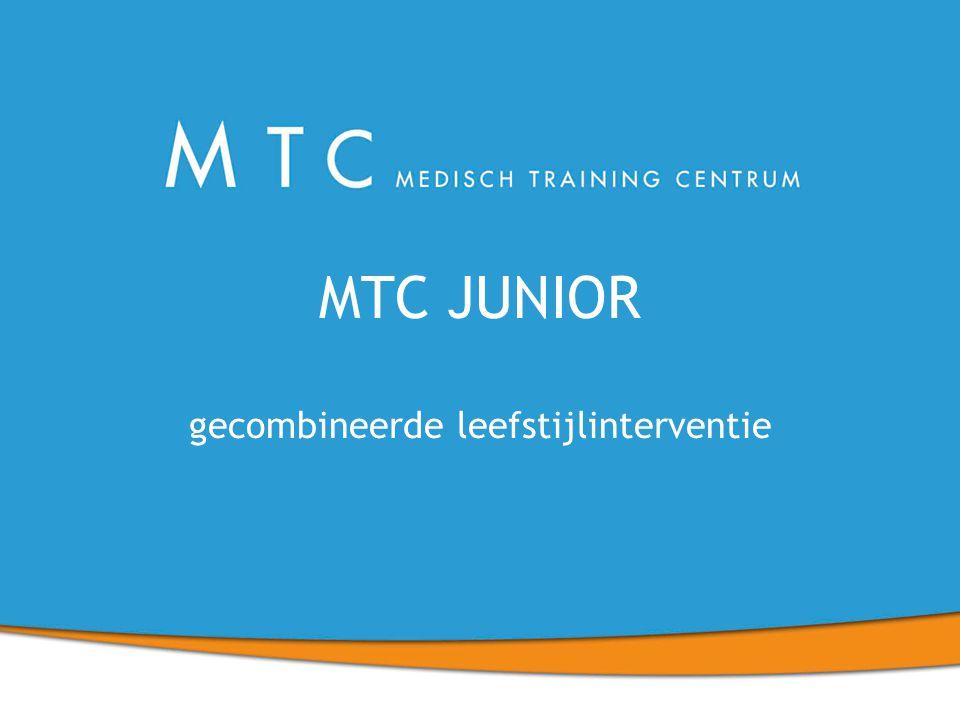 MTC JUNIOR gecombineerde leefstijlinterventie