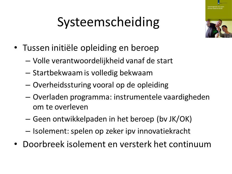 Qualified teacher status Variatie aan routes.