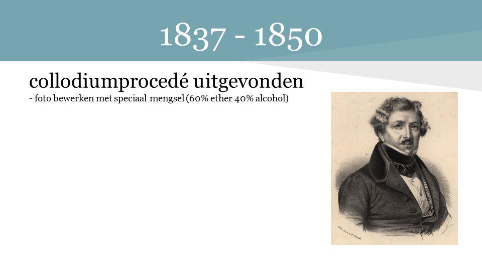 1861-1871 de eerste kleurenfoto werd gemaakt - gebruik van drie kleuren pigmenten de eerste kleurenfoto