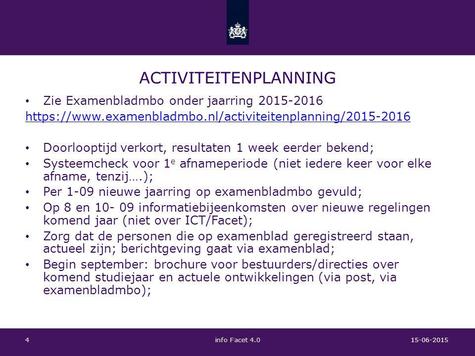 OEFENEN EN LEREN Leren door doen; Leren van elkaar: – leren van ervaren collega's: GLU heeft leeromgeving, belangstelling: Max van Poorten 15-06-2015info Facet 4.05 Koning Willem IArthur Traa.tra@kw1c.nl Erno de Kortemail@ernodekorte.nl GraafschapcollegeJur TielemanTLN@graafschapcollege.nl NoorderpoortHenk Kosterh.koster@noorderpoort.nl GLUMax van Poortenmpoorten@glu.nl MBO AmersfoortChris Waletc.walet@mboamersfoort.nl DeltionJan Kruijsjkruijs@deltion.nl
