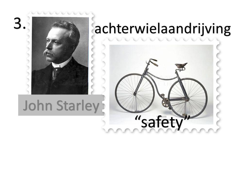 De evolutie van de fiets