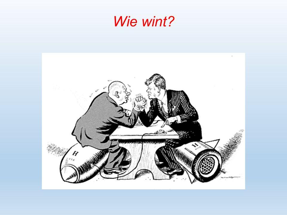Wie wint?