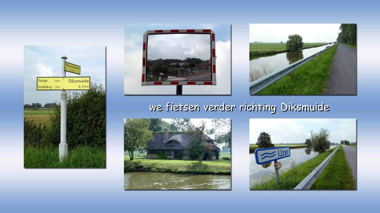 de monding van het Ieperleekanaal in de IJzer aan de Knokkebrug
