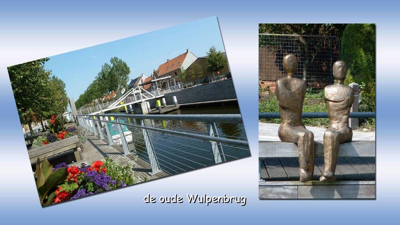 we fietsen verder langs het kanaal Nieuwpoort-Duinkerke