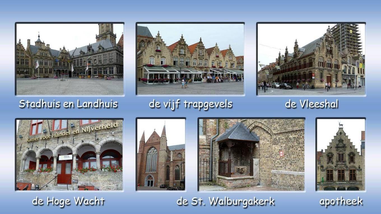 de Grote Markt van Veurne, één van de mooiste marktpleinen van België