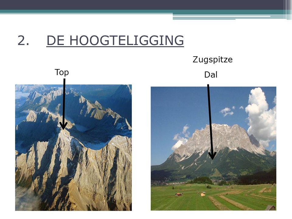 2.DE HOOGTELIGGING Top Dal Zugspitze