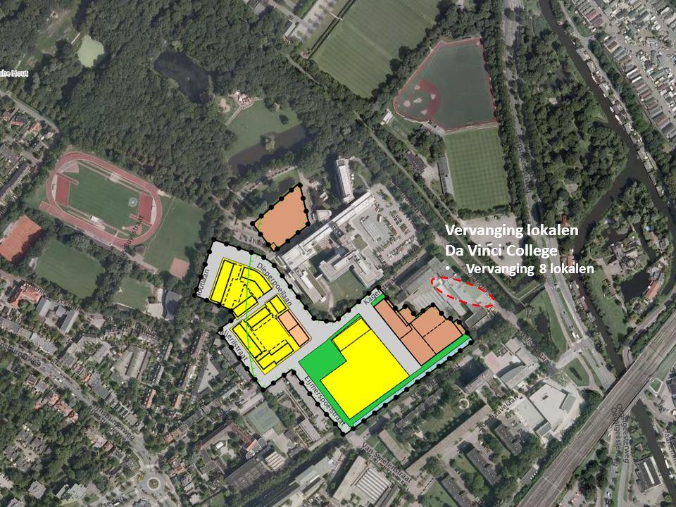 Vervanging lokalen Da Vinci College Vervanging 8 lokalen