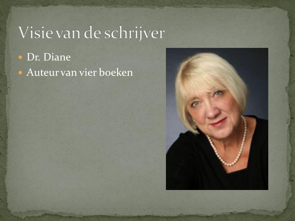Dr. Diane Auteur van vier boeken