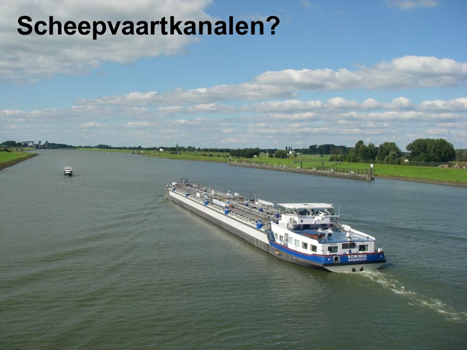 Scheepvaartkanalen?