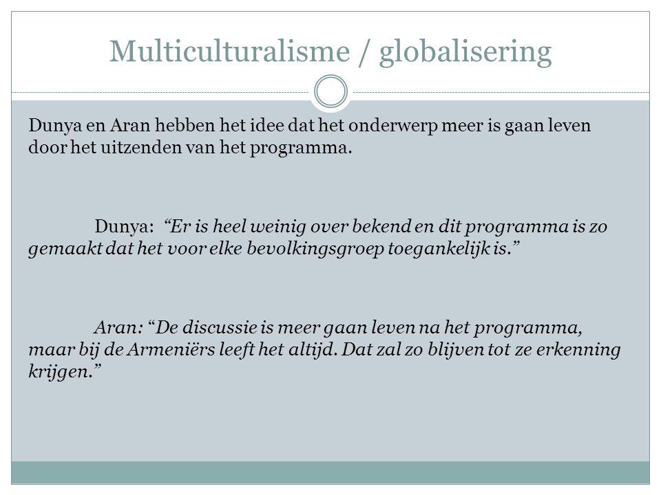 Ontwikkelingen in de media Aran moedigt mensen aan om zelf onderzoek te doen naar de kwestie.
