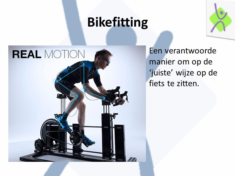 Een verantwoorde manier om op de 'juiste' wijze op de fiets te zitten.
