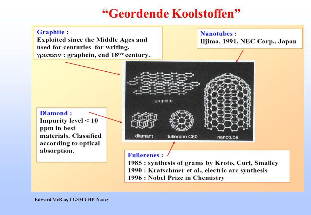 """Geordende Koolstoffen"" Edward McRae, LCSM UHP-Nancy"