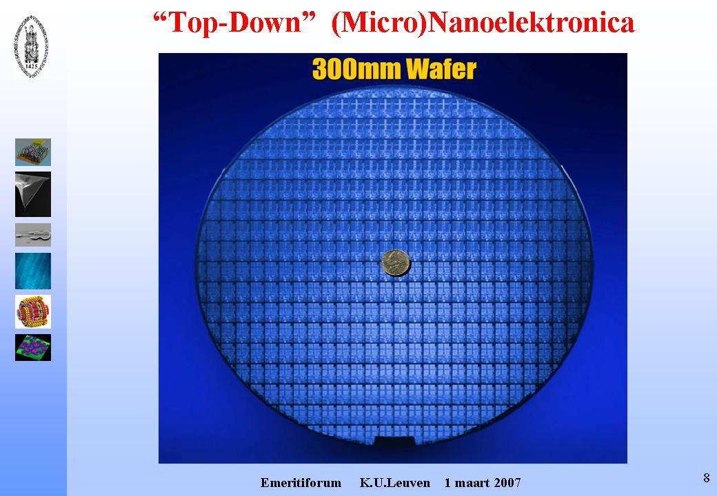 STM-tip Scannning Tunneling Microscoop (STM) Manipuleren van Atomen