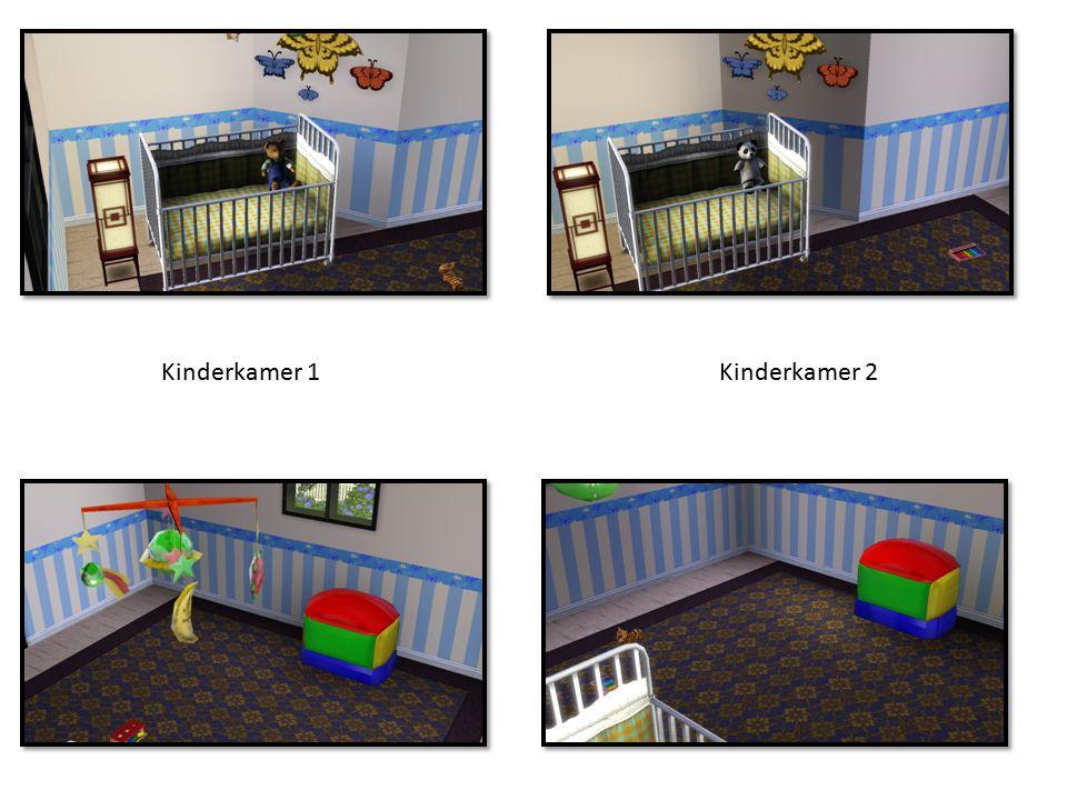 Kinderkamer 1Kinderkamer 2