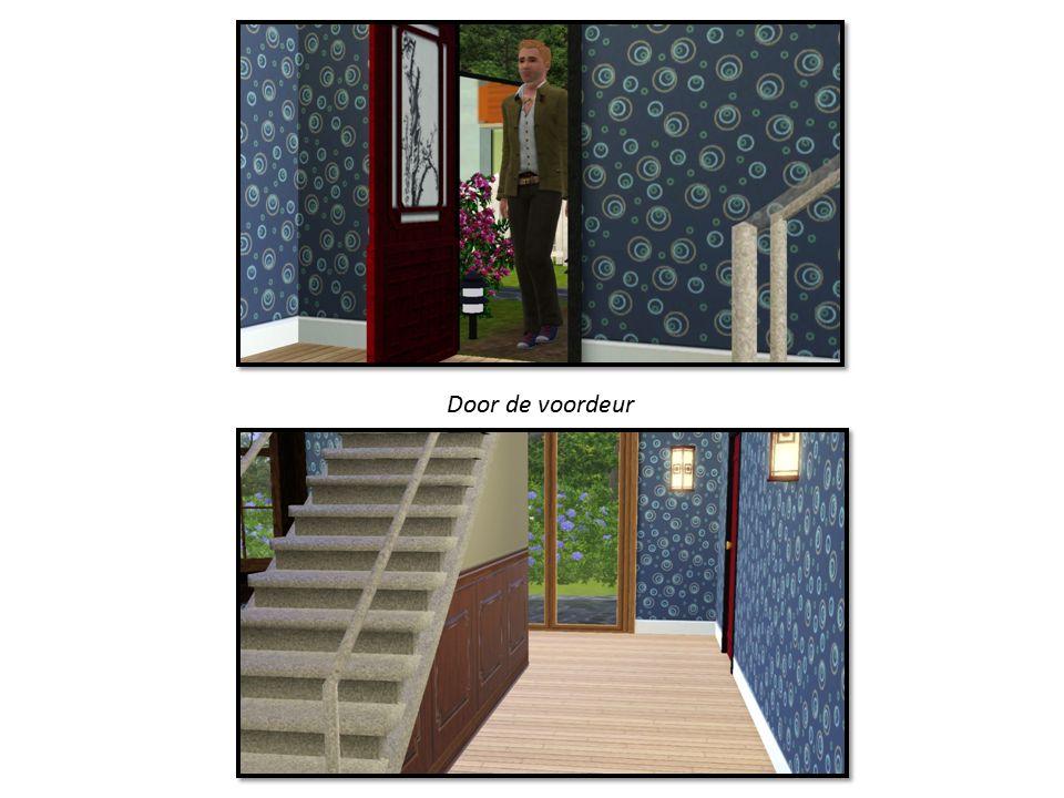 Door de voordeur