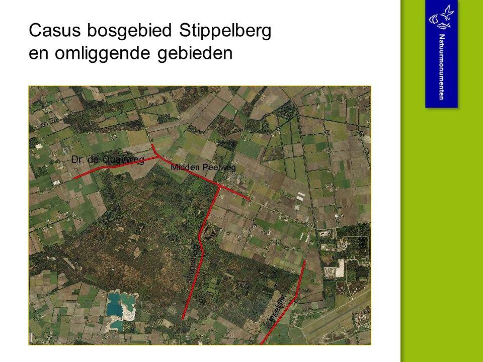 Casus bosgebied Stippelberg en omliggende gebieden