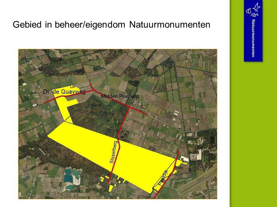 Gebied in beheer/eigendom Natuurmonumenten