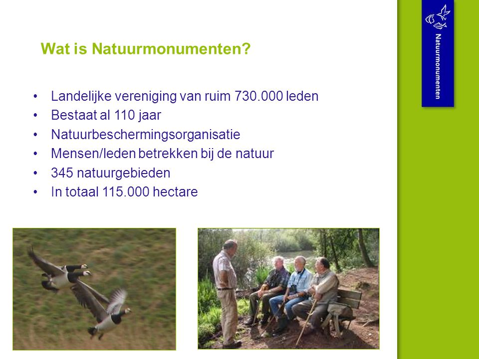 Wat is Natuurmonumenten.