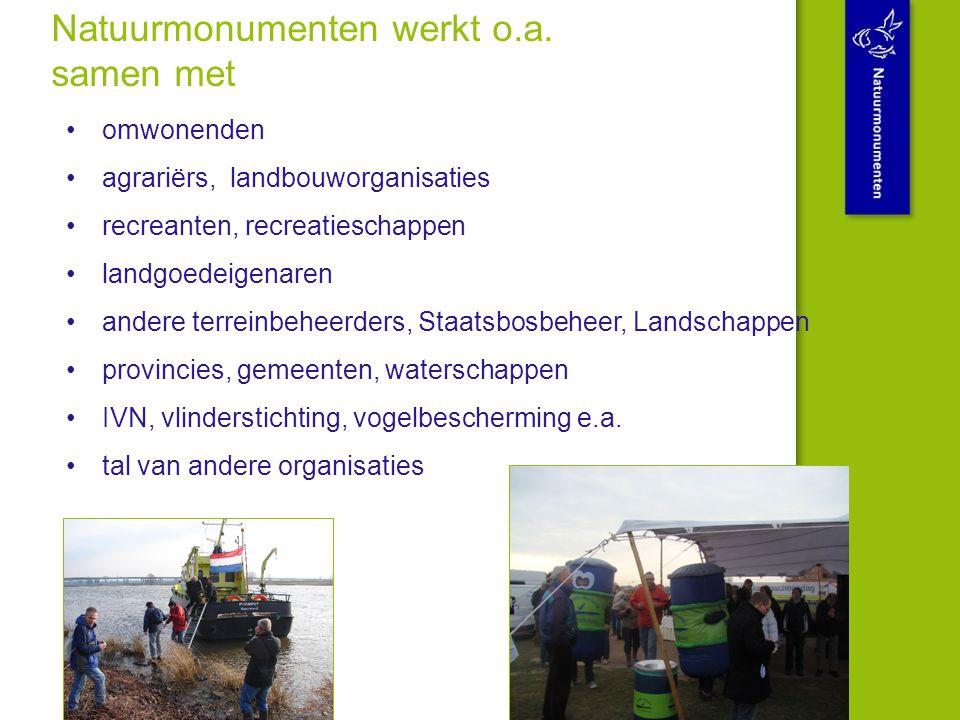 Bedankt voor uw aandacht Natuurmonumenten. Als je van Nederland houdt.