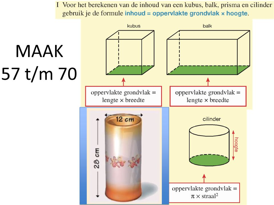 MAAK 57 t/m 70