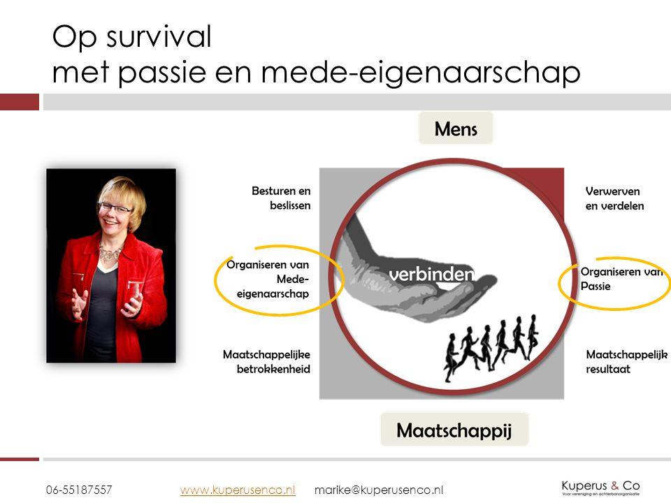 Op survival met passie en mede-eigenaarschap 06-55187557 www.kuperusenco.nlmarike@kuperusenco.nlwww.kuperusenco.nl