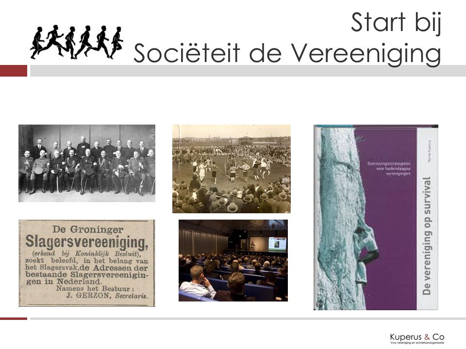 Start bij Sociëteit de Vereeniging