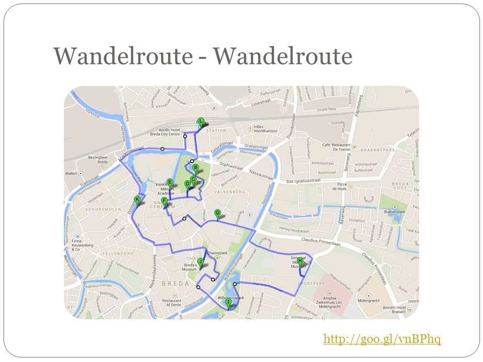Wandelroute - Wandelroute http://goo.gl/vnBPhq