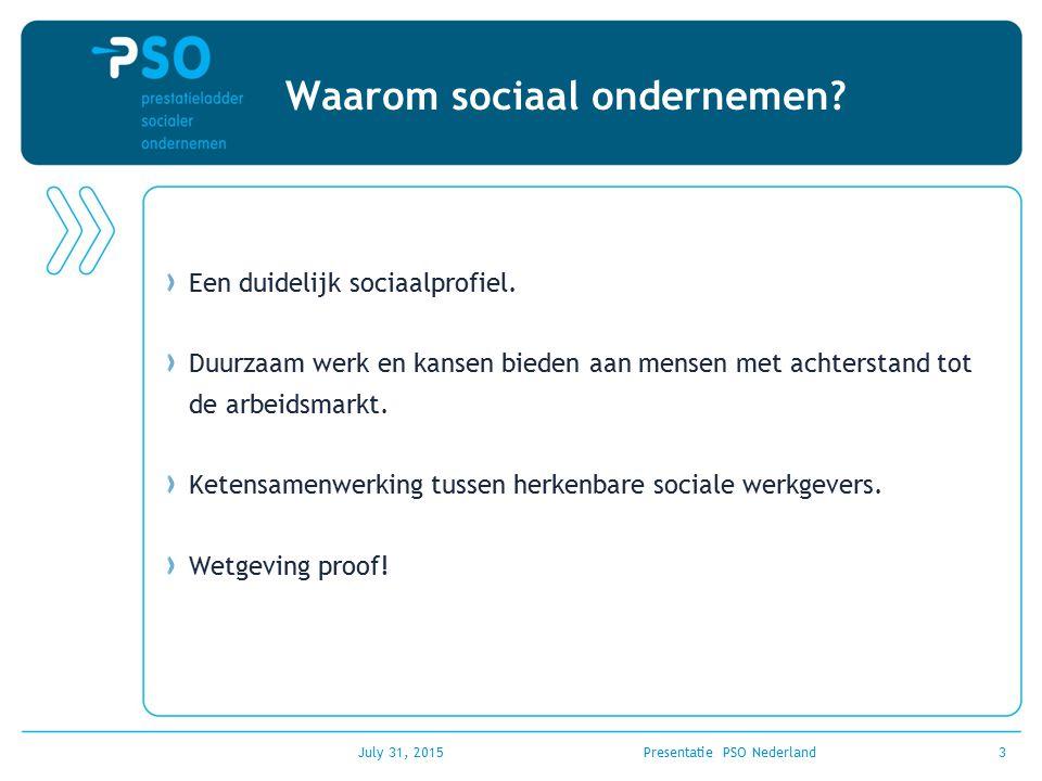 Waarom sociaal ondernemen? Een duidelijk sociaalprofiel. Duurzaam werk en kansen bieden aan mensen met achterstand tot de arbeidsmarkt. Ketensamenwerk