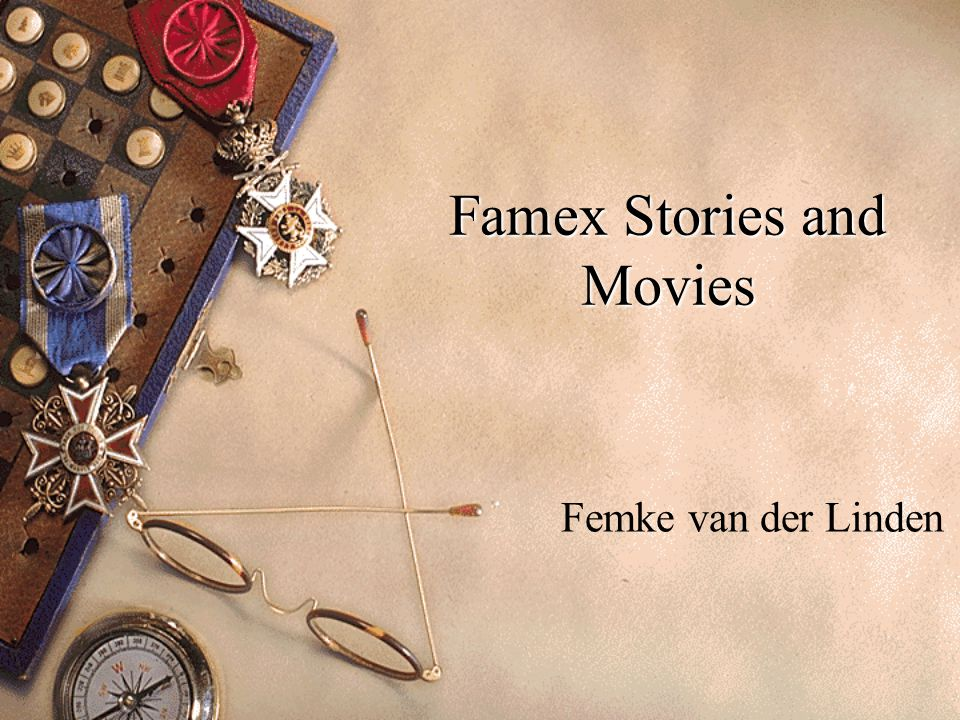 Famex Stories and Movies Femke van der Linden