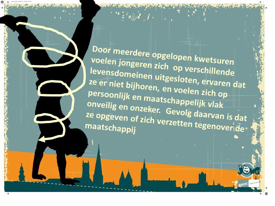 Gent erkent kinderen en jongeren als volwaardige actoren bij het vormgeven van de stad, en houdt rekening met wat zij belangrijk vinden.