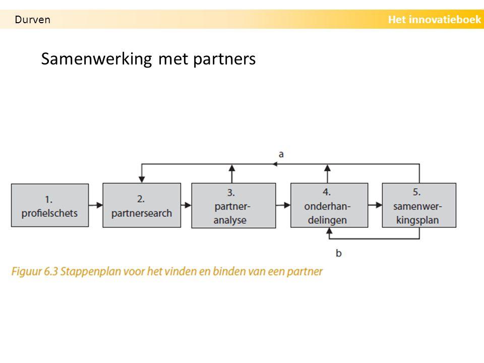 Het innovatieboek Samenwerking met partners Durven