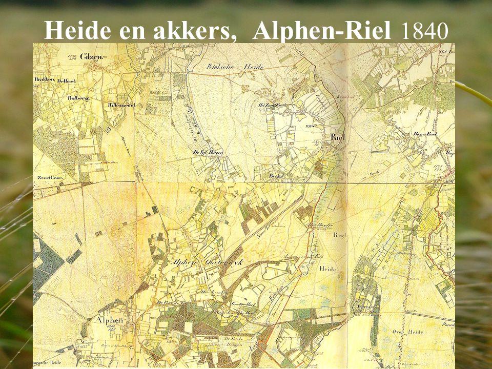 Heide en akkers, Alphen-Riel 1840