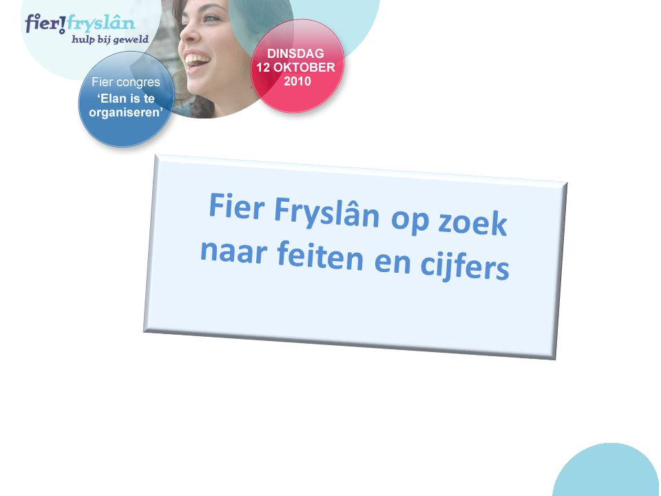 Fier Fryslân op zoek naar feiten en cijfers